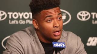 Jets top draft pick Jamal Adams squares up bet with dad
