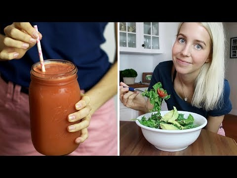 Full Day of Eating ✦ RAW + HEALTHY