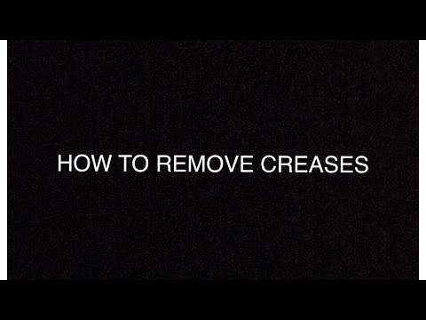 HOW TO GET CREASES/BUBBLES OUT OF A BASEBALL GLOVE