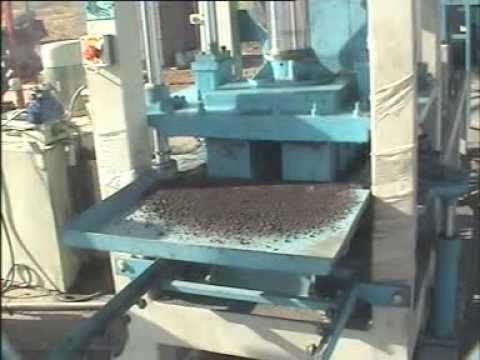 Automatic Flyash Bricks Making Machine (10 Bricks Per/stroke)