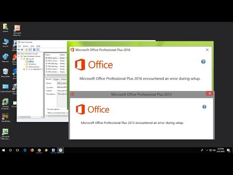 How to Fix Microsoft Office 2016 Encountered An Error During Setup (100% Works)