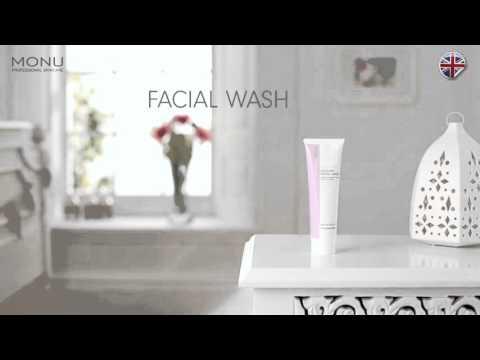 MONU Delicate Facial Wash  - How to use - MONU Skincare advice & tip