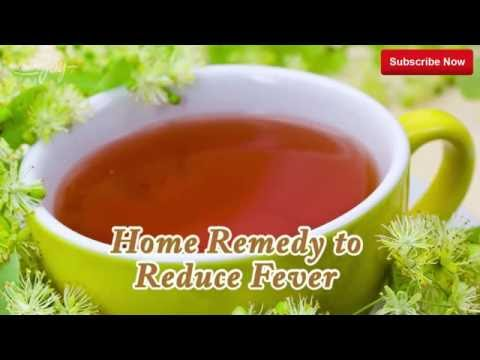 Home Remedy to Reduce Fever