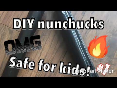 How to make SAFE nunchucks!!!