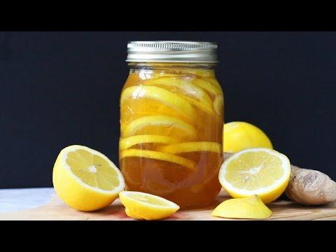 Honey Lemon Ginger Jar | Natural Cold & Flu Remedy