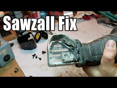 DeWalt Sawzall Repair - Broken Blade Holder
