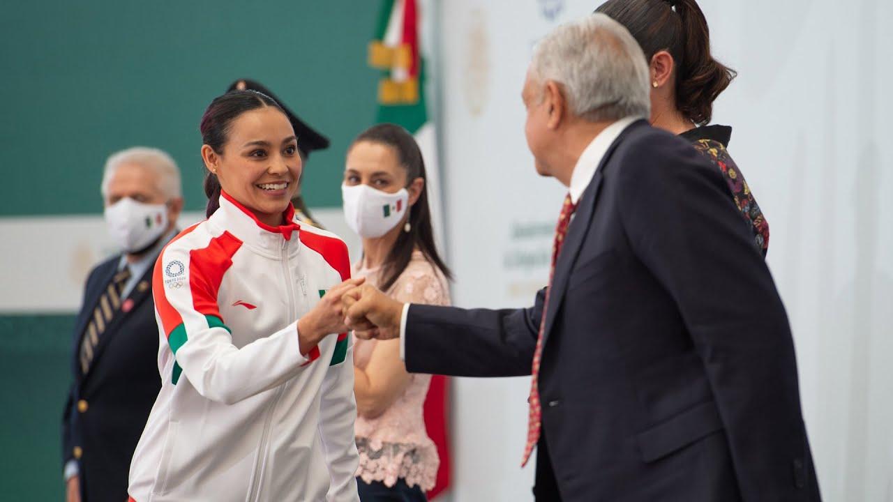 Abanderamiento de la Delegación Mexicana, XXXII Juegos Olímpicos Tokio 2020.