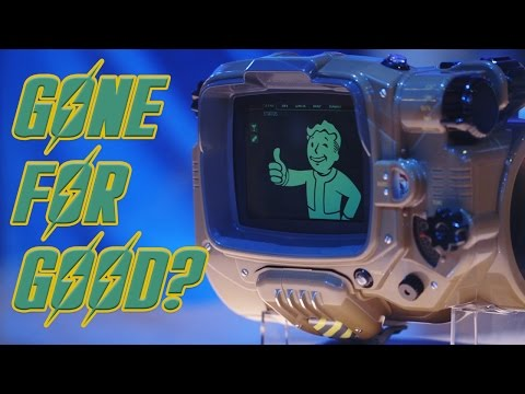 Fallout 4 Pip Boys GONE FOREVER?  And Other Rad Geek Toys!