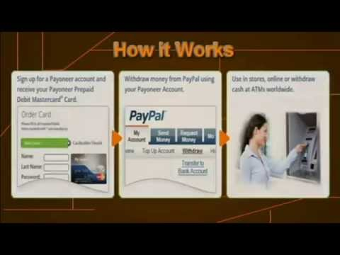 How to get FREE Payoneer Prepaid Master Card and Verify paypal in Ghana