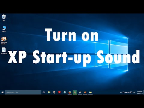 How to Turn on XP Start-up Sound in Windows 10 (3 Simple Steps)