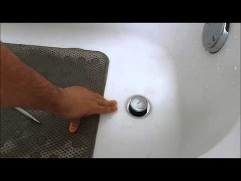 How To Replace A Bathtub Drain Stopper (Toe Touch)