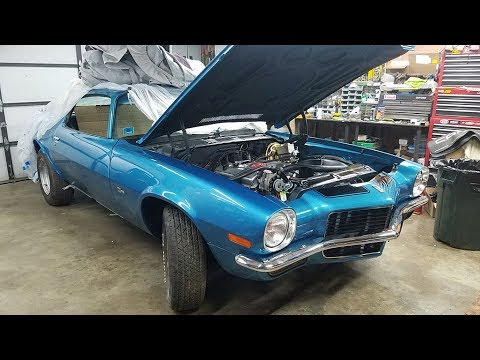 1970 Chevrolet Camaro Z28 Restoration Project