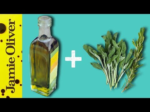 How To Flavour Olive Oil | 1 Minute Tips | Akis Petretzikis