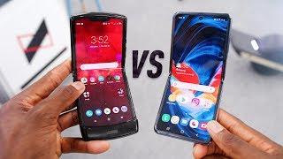 Galaxy Z Flip vs Moto RAZR 2020: 10 Differences!