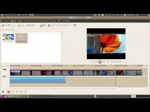 Ubuntu Lucid Lynx and PiTiVi Video Editor
