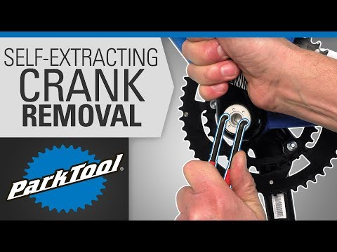 Crank Removal and Installation - Self Extracting