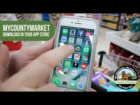 How To Use Digital Coupons with the myCountyMarket App