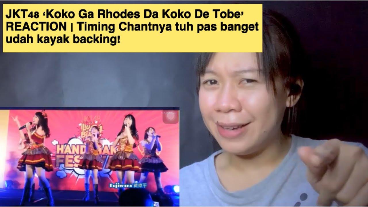 Download JKT48 'Koko Ga Rhodes Da Koko De Tobe' REACTION | Timing Chantnya tuh pas banget udah kayak backing! MP3 Gratis