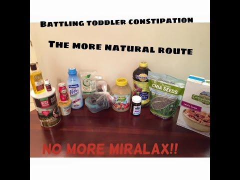 BATTLING TODDLER CONSTIPATION NATURALLY