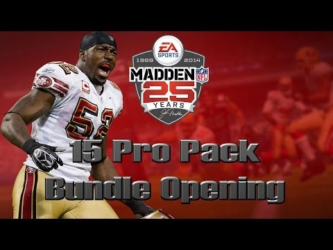 Madden 25 Ultimate Team | 15 Pro Pack Opening