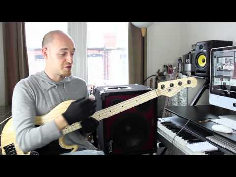 How to build speed and accuracy on the bass (Pt1) - Lesson with Scott Devine (L#47)
