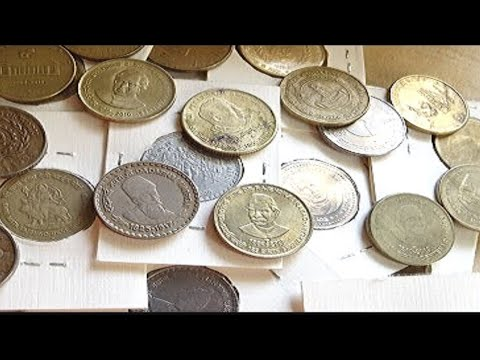 Indian 5 rupee commemorative coins
