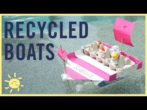 PLAY | Making BOATS From Recyclables!