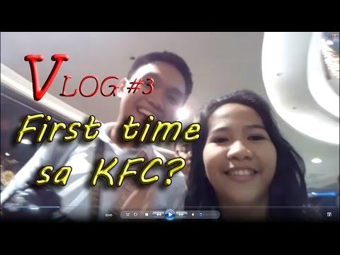 Ronnie's VLOG #3: First time sa KFC?
