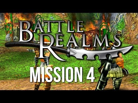 Let's Play Battle Realms ► Mission 4 [Dragon Campaign]