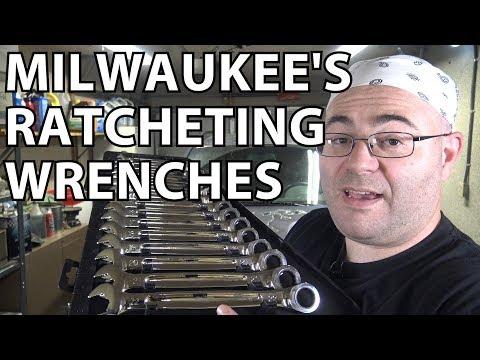 Milwaukee's Max Bite Ratcheting Wrenches