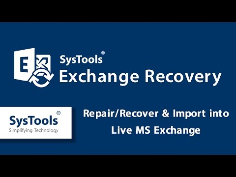 How to Repair Exchange EDB Files & Import into Live Exchange Server