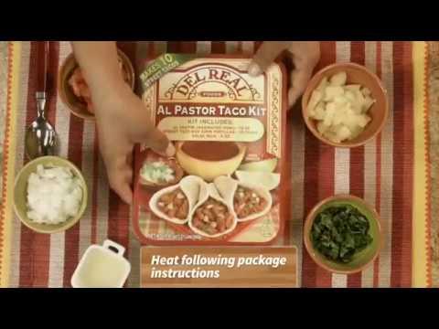 How to make tacos Al Pastor with Pineapple Pico De Gallo