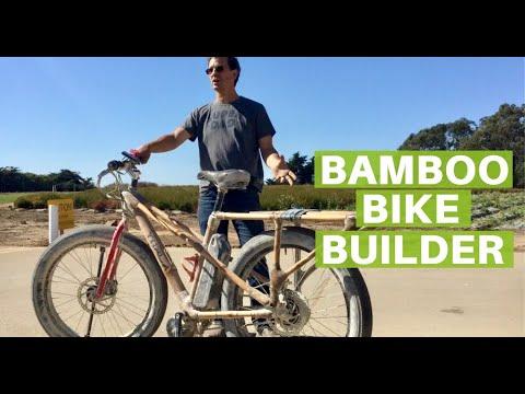 Craig Calfee Genius Bamboo Bicycle Builder
