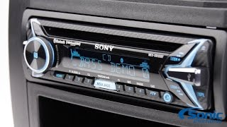 Sony MEX XB100BT Bluetooth Amplified Car Stereo | Product Overview