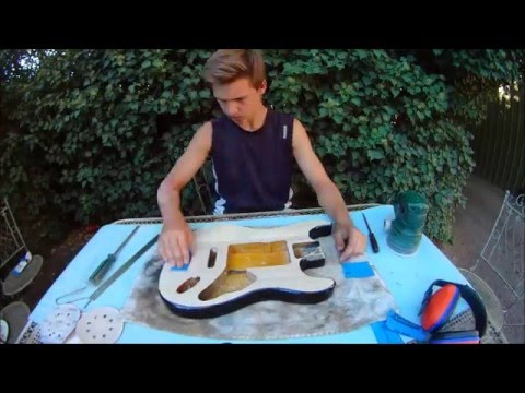 how to make your cheap guitar look. AWESOME!!!