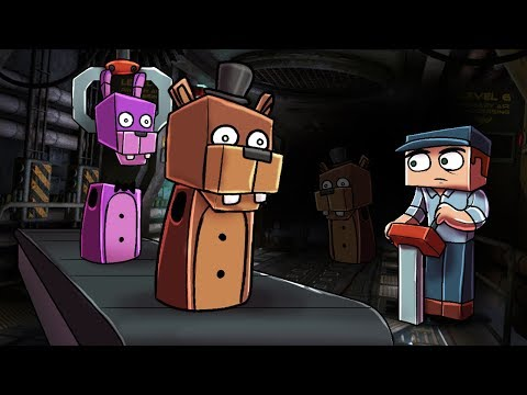 Minecraft | FNAF SIMULATOR - Who's the New Animatronic? (Five Night's at Freddy's)