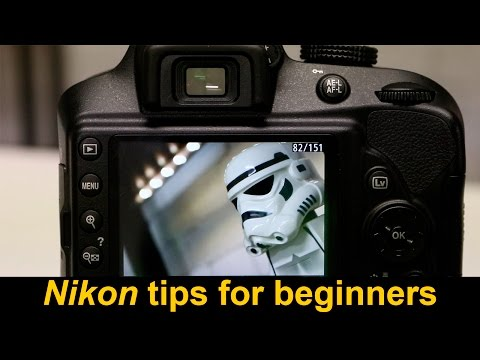 Got a new Nikon?  Some cool camera tips for beginners