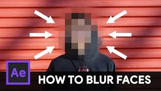 How To Track  Blur Faces In Video  After Effects Tutorial