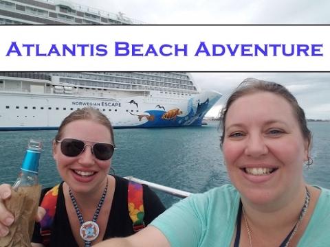 Adventure in Nassau ~ Finding the Free Beach @ Atlantis! Norwegian Cruise Vlog [ep23]