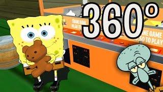 SpongeBob - Skill Crane Game Scene