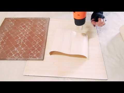 Como fazer chapas de cano de PVC