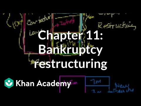 Chapter 11: Bankruptcy restructuring   Stocks and bonds   Finance & Capital Markets   Khan Academy