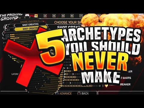 5 Archetypes You Should NEVER Make in NBA 2K18! Don't Waste Your VC! | PeterMc