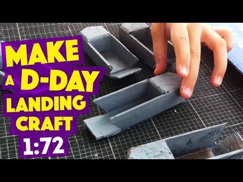 MAKE a D-DAY landing craft (L.C.V.P)