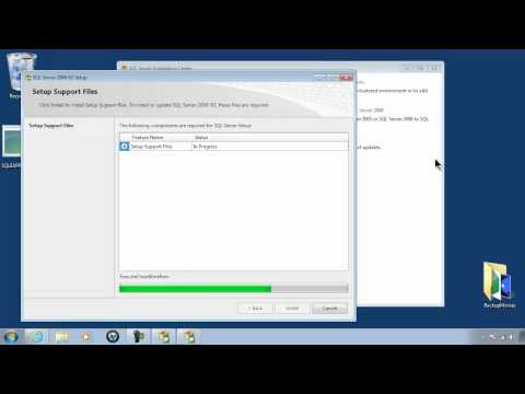 SQL Server Express 2008 R2 Tutorial 1 - Free Download Link Install And Setup