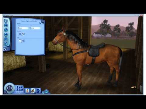 Sims 3 How to add Breed of pet to existing household