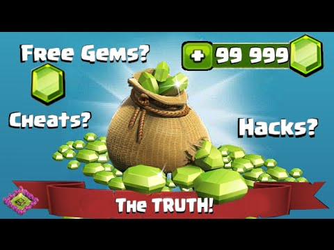 Clash of Clans Hack Cheats Free Gems | The TRUTH!