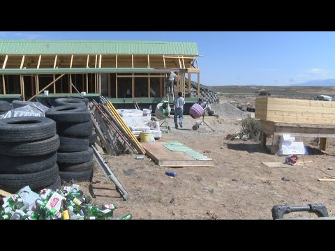 Earthship Academy teaches people how to build sustainable housing