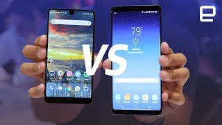 Note8 vs HTC U11 and Essential Phone hands-on