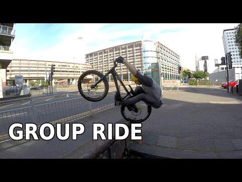 Ali Clarkson Vlog 25 - Group Ride